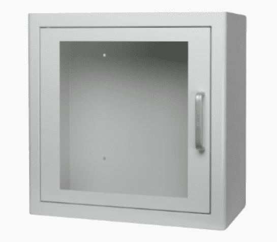 AED binnenkast Wit met alarm - Janhofman.nl - 1