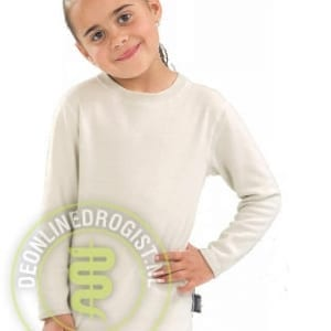Best4body Verbandshirt Kind Lange Mouwen Wit Maat 104 - Janhofman.nl - 1