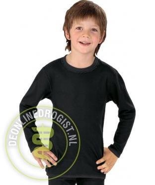 Best4body Verbandshirt Kind Lange Mouwen Zwart Maat 152 - Janhofman.nl - 1