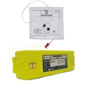 Cardiac Science G3 batterij en elektrode set - Janhofman.nl - 1