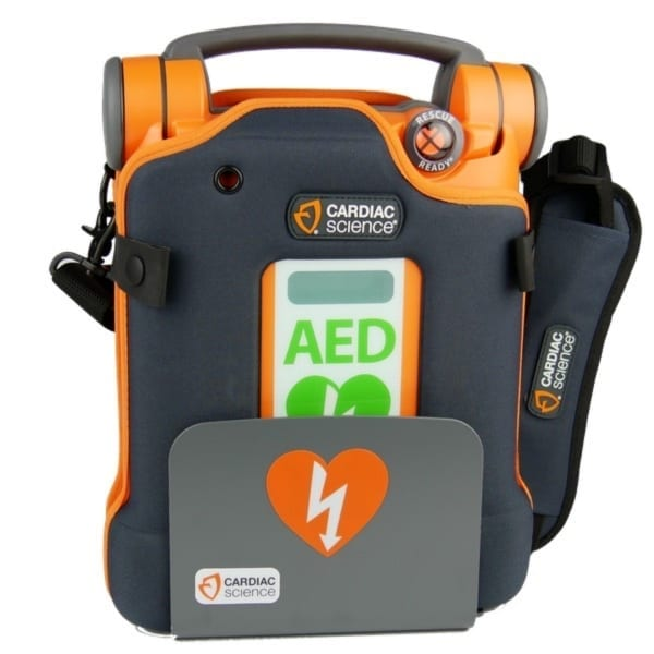 Cardiac Science Powerheart G5 + beugel-Halfautomaat-Nederlands-Frans - Janhofman.nl - 1