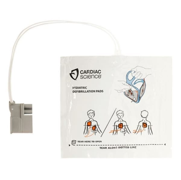 Cardiac Science Powerheart G5 kinder elektroden - Janhofman.nl - 1