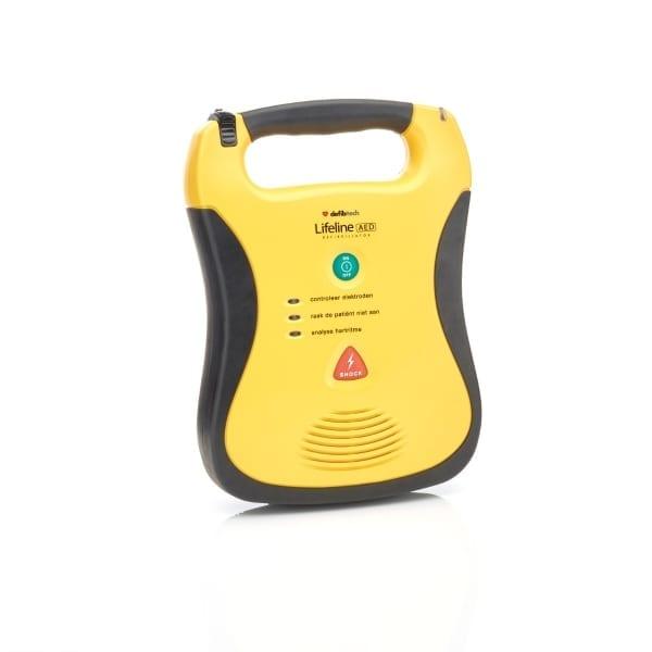Defibtech Lifeline AED + buitenkast-Groen-Halfautomaat - Janhofman.nl - 1