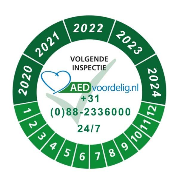 Eenmalige servicebeurt AED - Janhofman.nl - 1