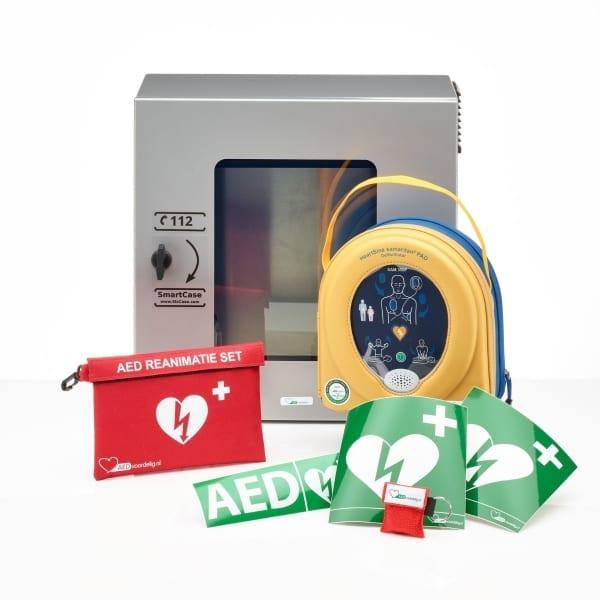 HeartSine 350P AED + buitenkast-Grijs - Janhofman.nl - 1