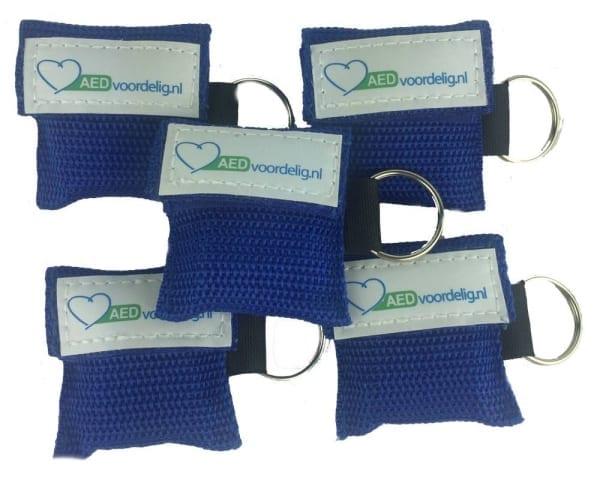 Kiss of life key blauw 5 stuks - Janhofman.nl - 1