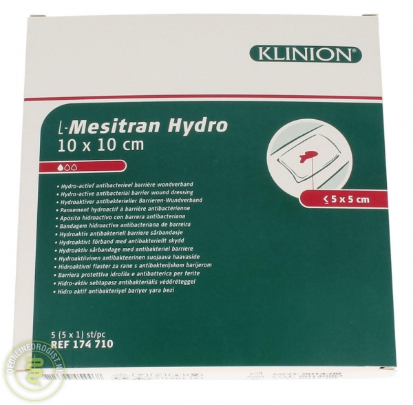 Klinion L-Mesitran Hydro 10x10cm - Janhofman.nl - 1