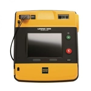 LIFEPAK 1000 defibrillator - Janhofman.nl - 1