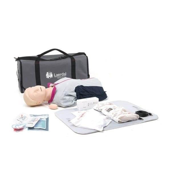 Laerdal Resusci Anne met QCPR AED Torso en Draagtas - Janhofman.nl - 1