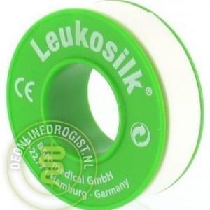 Leukosilk 1.25cm x 9.2m - Janhofman.nl - 1