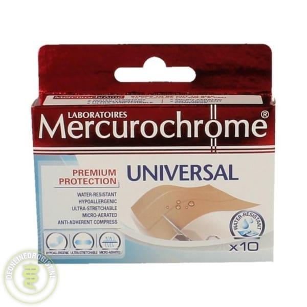 Mercurochrome Pleisters Universal 10st - Janhofman.nl - 1