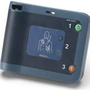 Philips HeartStart FRx met tas en kast - Janhofman.nl - 1