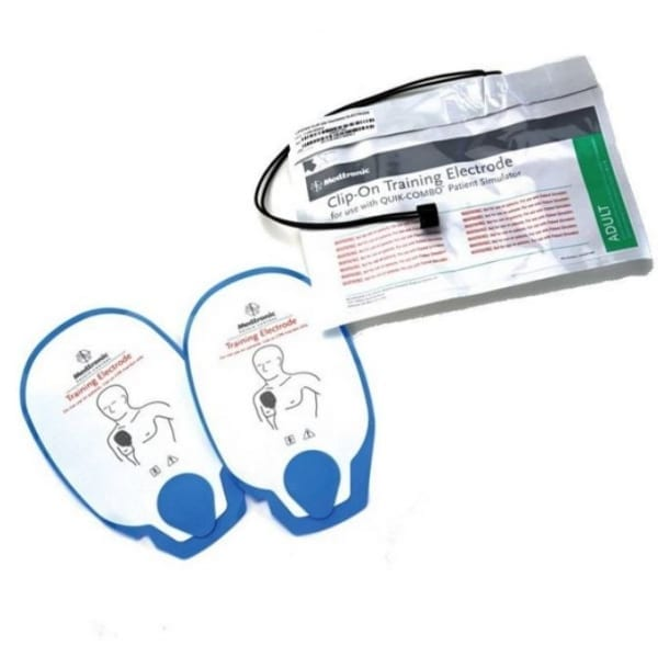 Physio-Control Lifepak 500/1000 Training set elektroden - Janhofman.nl - 1