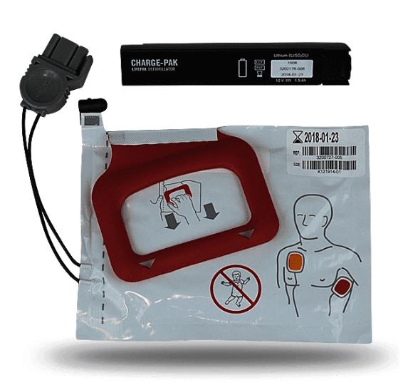 Physio-Control Lifepak CRPlus/Express Accu + Elektrode - Janhofman.nl - 1
