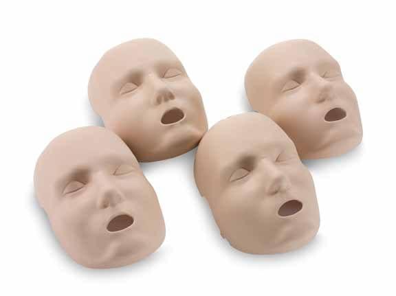 Prestan 4 pack vervangende huid volwassen gezicht - Janhofman.nl - 1