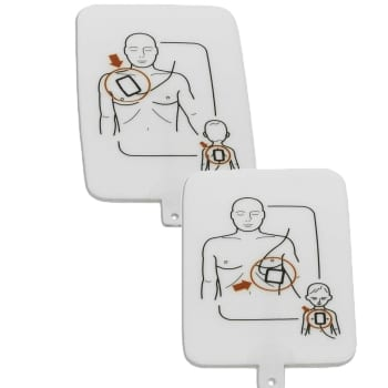 Prestan AED UltraTrainer Trainingselektroden - Janhofman.nl - 1