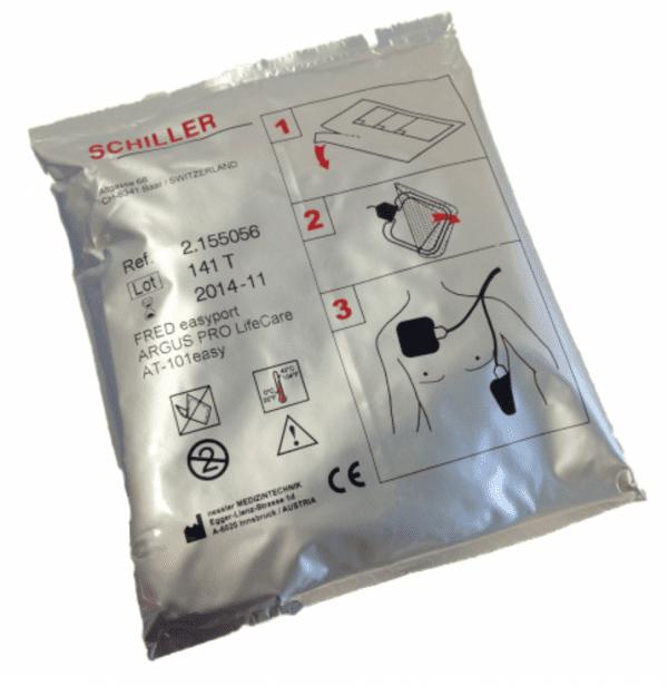 Schiller FRED EasyPort elektroden - Janhofman.nl - 1