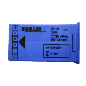 Schiller battery pack FRED easy - Janhofman.nl - 1