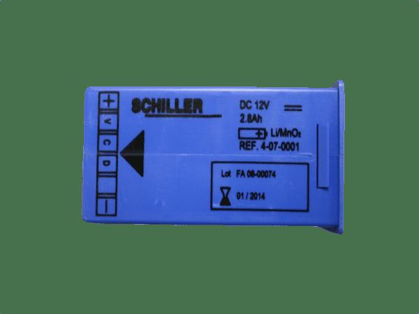 Schiller battery pack FRED easy - Janhofman.nl - 1