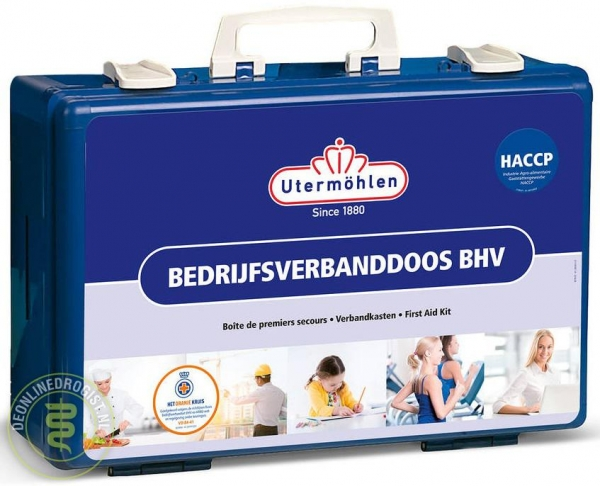 Utermohlen Bedrijfsverbanddoos BHV HACCP - Janhofman.nl - 1