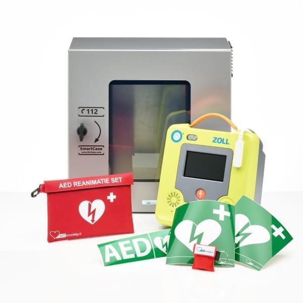 ZOLL AED 3 + buitenkast-Grijs-Halfautomaat - Janhofman.nl - 1
