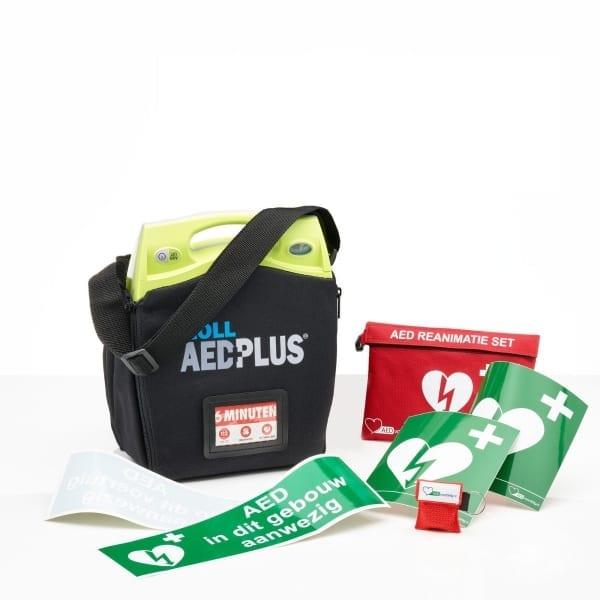 ZOLL AED Plus lease -Halfautomaat-Met muurbeugel-Ja (+ 10