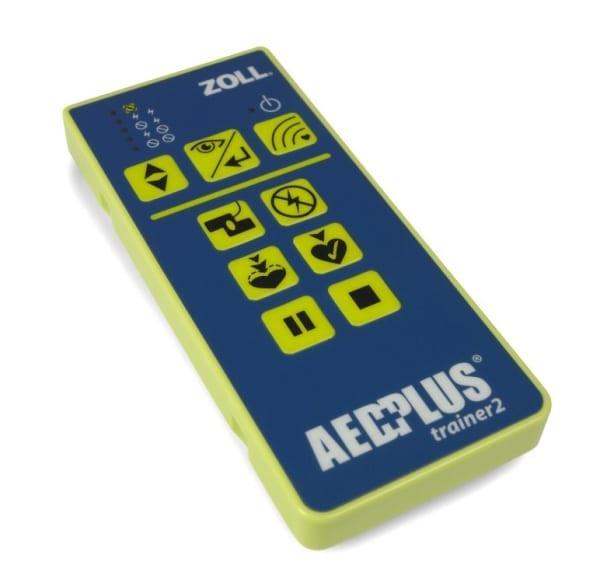 ZOLL AED Plus trainer afstandsbediening - Janhofman.nl - 1