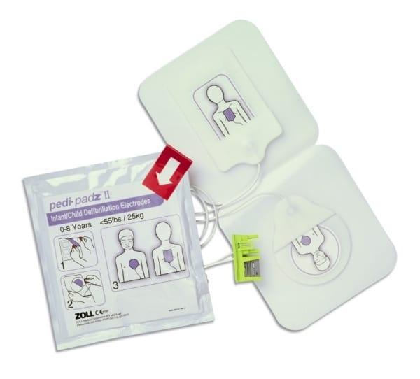 ZOLL kinderelektroden AED - Janhofman.nl - 1